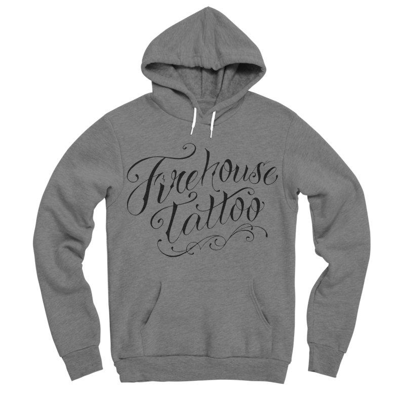 SVFT Script logo merchandise Women's Sponge Fleece Pullover Hoody by South Vineland's Firehouse Tattoo