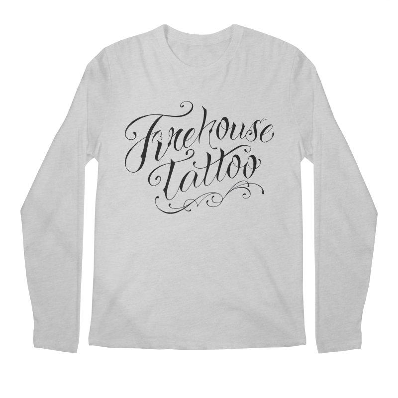 SVFT Script logo merchandise Men's Longsleeve T-Shirt by South Vineland's Firehouse Tattoo