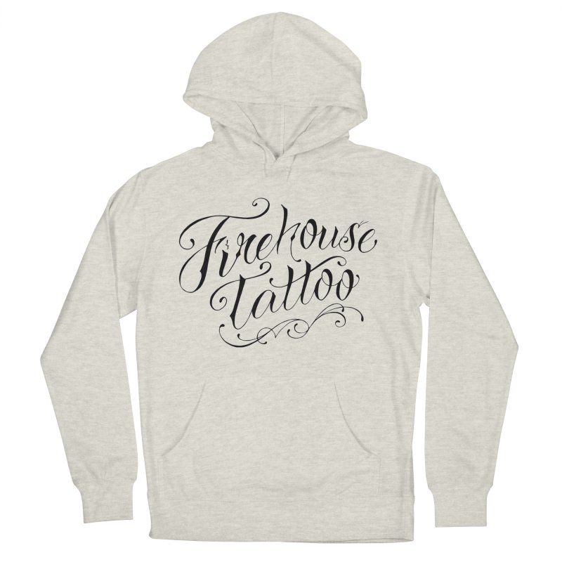 SVFT Script logo merchandise Women's French Terry Pullover Hoody by South Vineland's Firehouse Tattoo