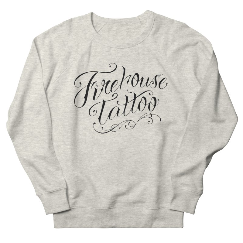 SVFT Script logo merchandise Women's French Terry Sweatshirt by South Vineland's Firehouse Tattoo