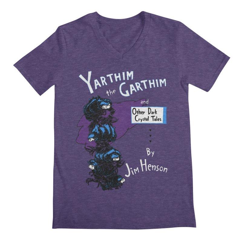 Yarthim the Garthim Men's Regular V-Neck by fireweatherstudio's Artist Shop