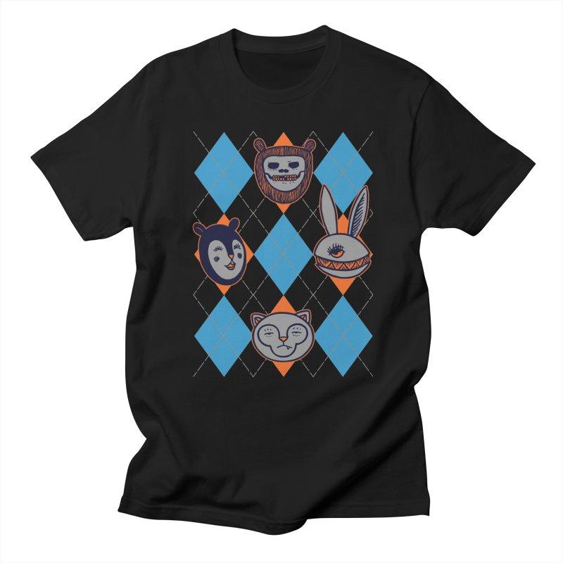 Argyle's Guys Men's T-Shirt by fireweatherstudio's Artist Shop