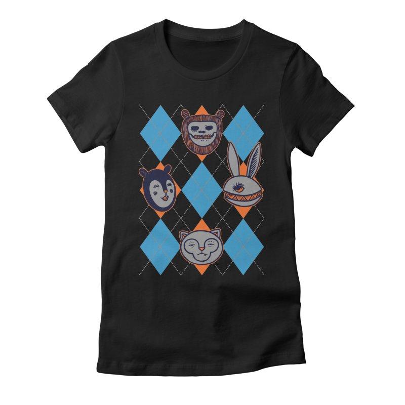 Argyle's Guys Women's Fitted T-Shirt by fireweatherstudio's Artist Shop