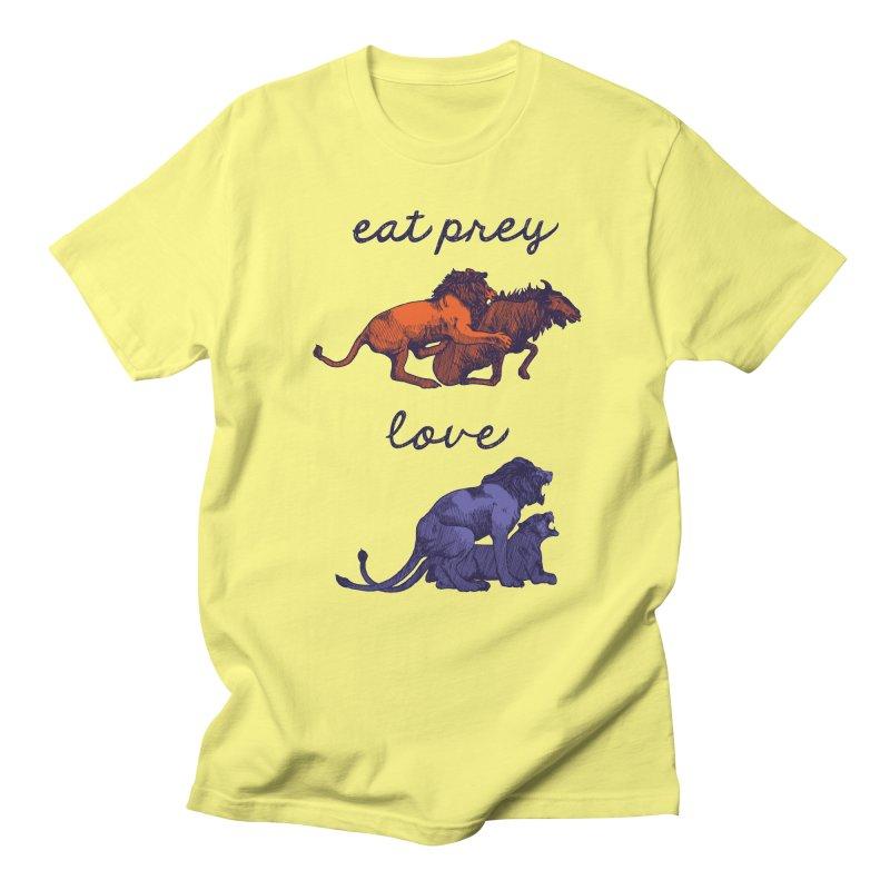 Eat Prey, Love Men's T-Shirt by fireweatherstudio's Artist Shop