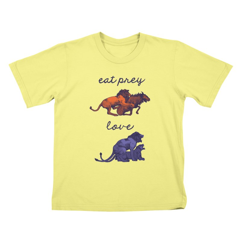 Eat Prey, Love Kids T-shirt by fireweatherstudio's Artist Shop