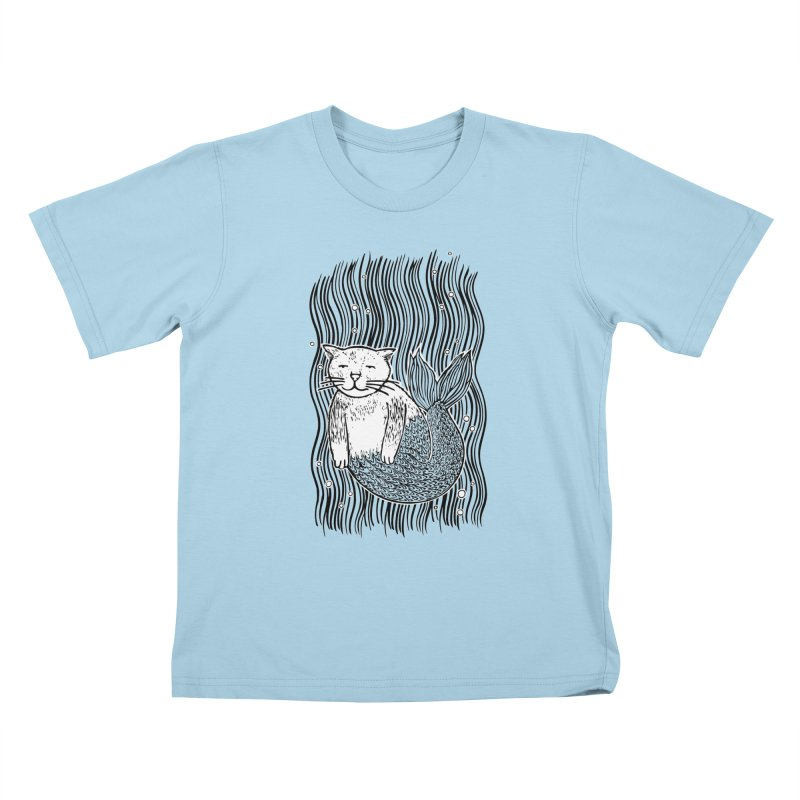 Mercat Kids T-shirt by fireweatherstudio's Artist Shop