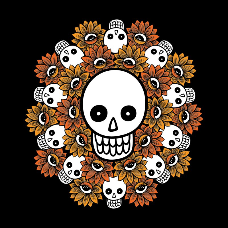 Skull Mandala by fireweatherstudio's Artist Shop