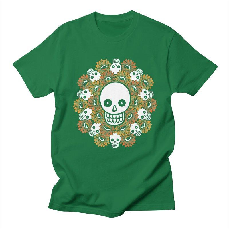 Skull Mandala Men's T-Shirt by fireweatherstudio's Artist Shop