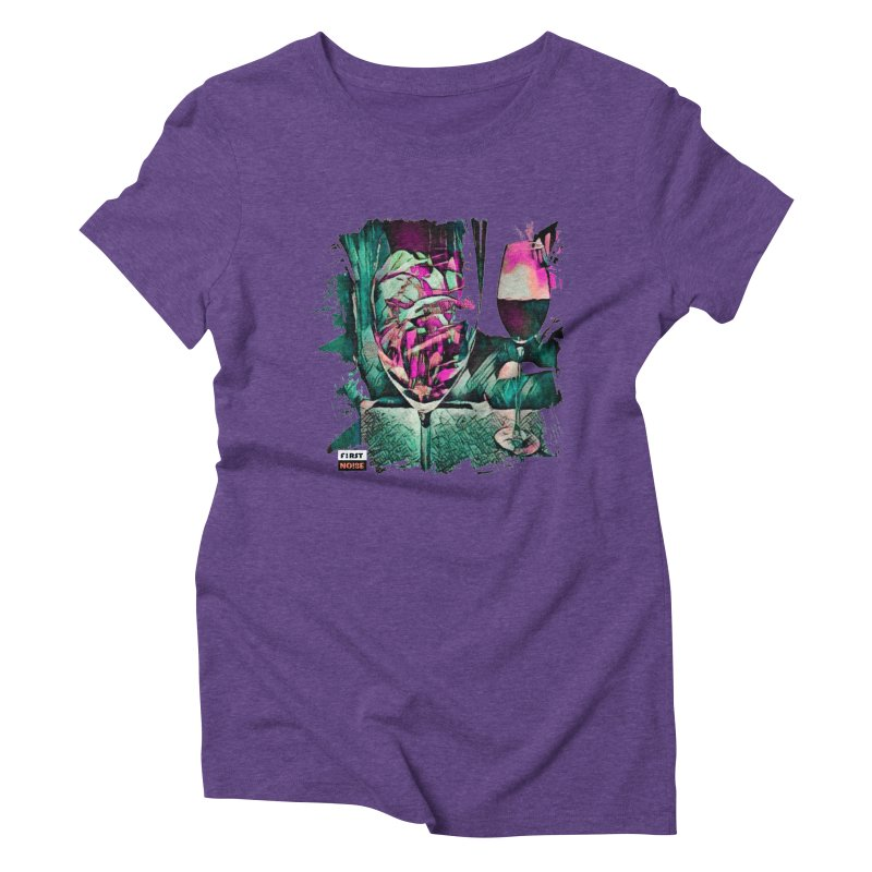 its a fish in Women's Triblend T-Shirt Tri-Purple by There Are Still Mysteries