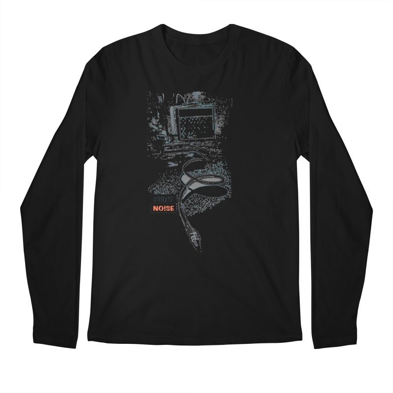 Ample Expression in Men's Regular Longsleeve T-Shirt Black by There Are Still Mysteries