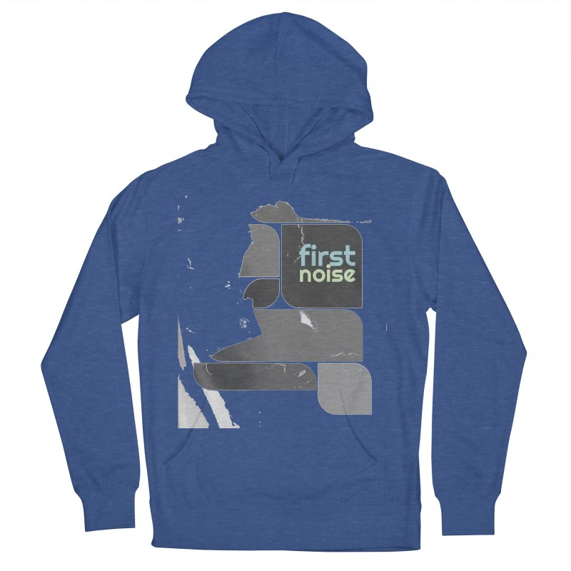A shadow of A in Women's French Terry Pullover Hoody Heather Royal by There Are Still Mysteries