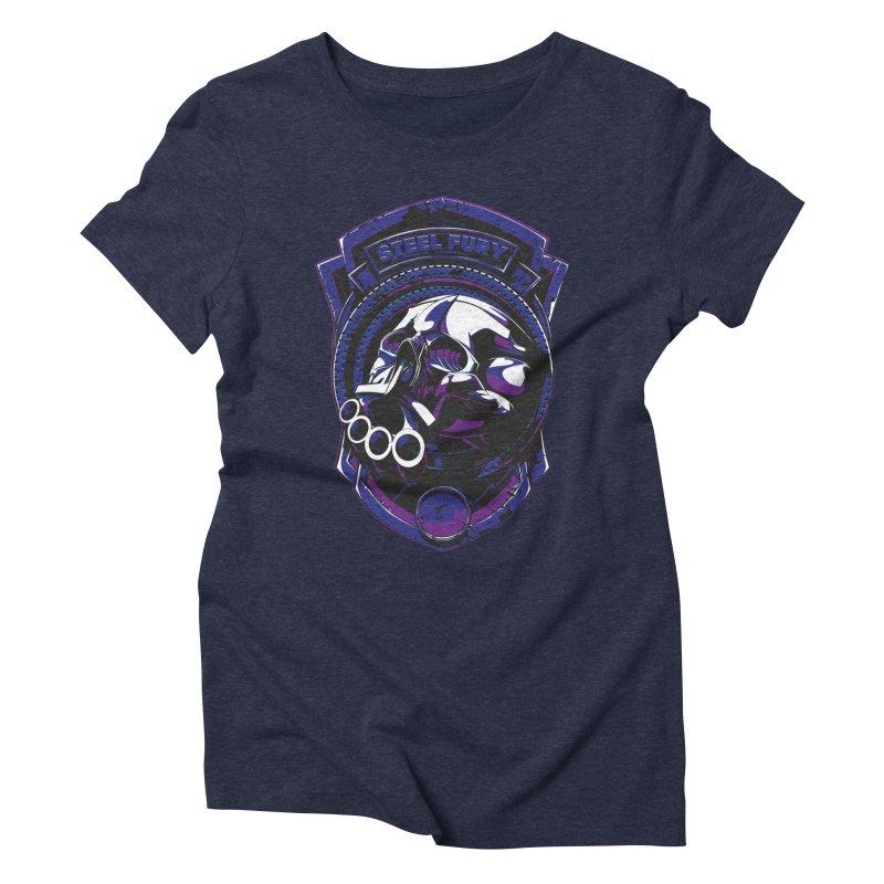 Steel Fury Women's Triblend T-shirt by fishark's Artist Shop