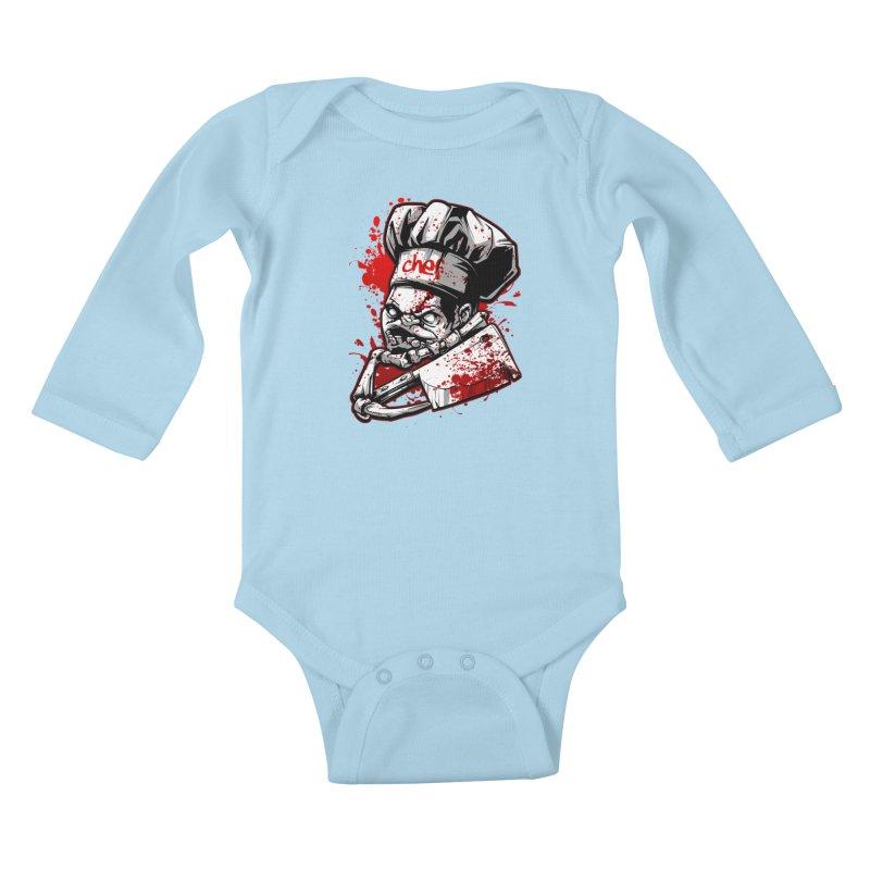 Pudge dota 2 Kids Baby Longsleeve Bodysuit by fishark's Artist Shop