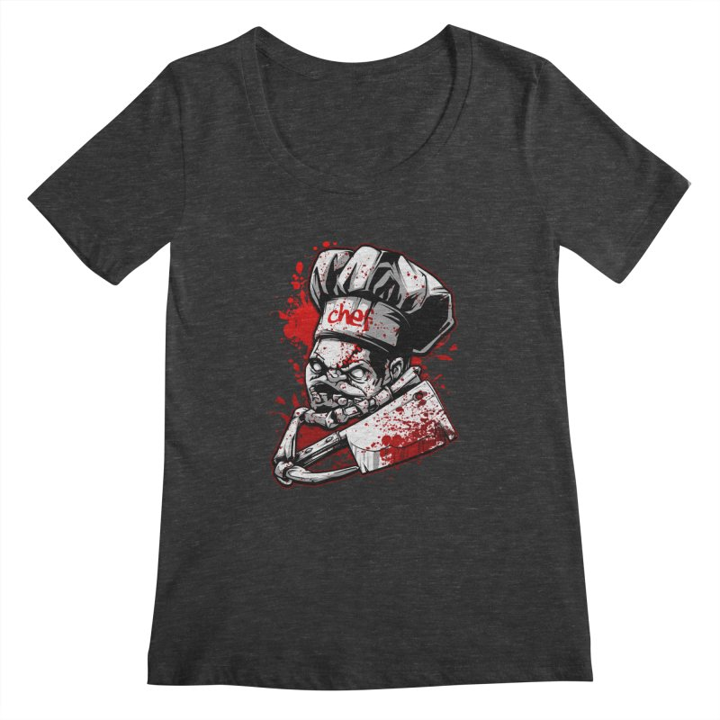 Pudge dota 2 Women's Scoopneck by fishark's Artist Shop