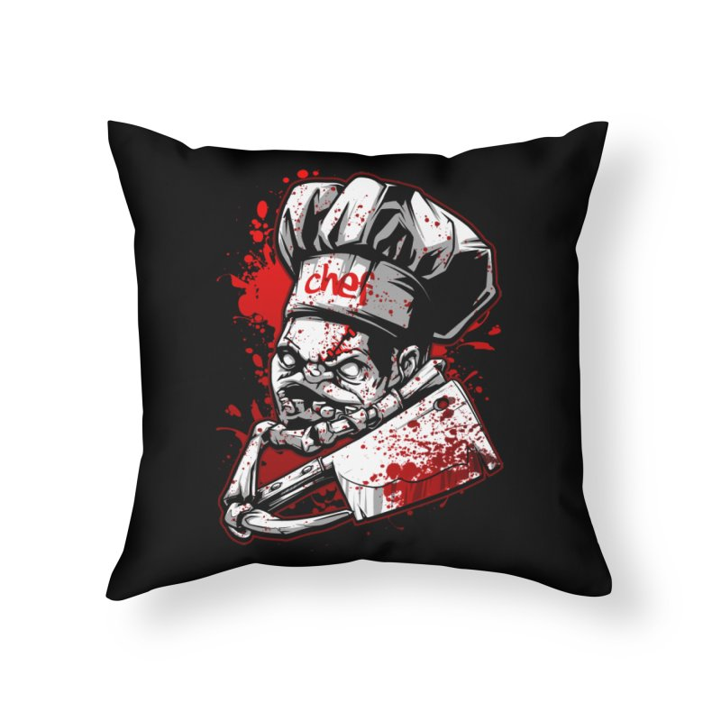 Pudge dota 2 Home Throw Pillow by fishark's Artist Shop