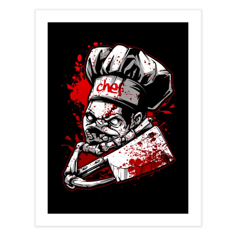 Pudge dota 2 Home Fine Art Print by fishark's Artist Shop