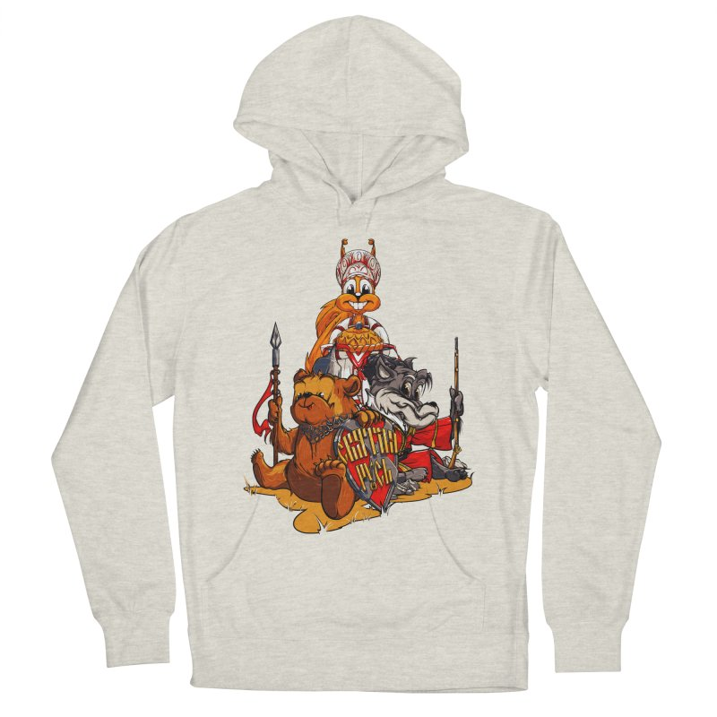Trio from Russia Women's Pullover Hoody by fishark's Artist Shop