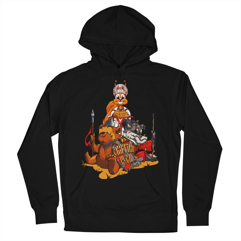 Trio from Russia Men's Pullover Hoody by fishark's Artist Shop