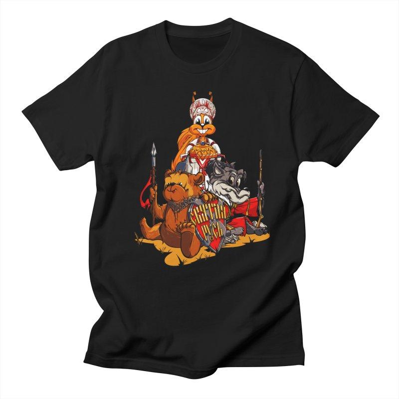 Trio from Russia Women's Unisex T-Shirt by fishark's Artist Shop