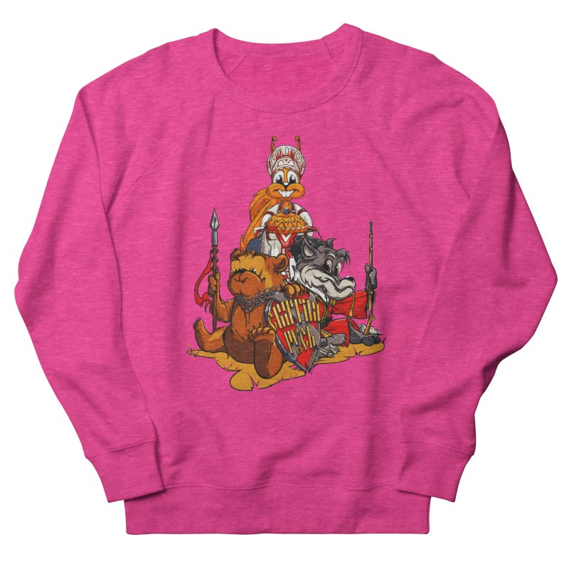 Trio from Russia Women's Sweatshirt by fishark's Artist Shop