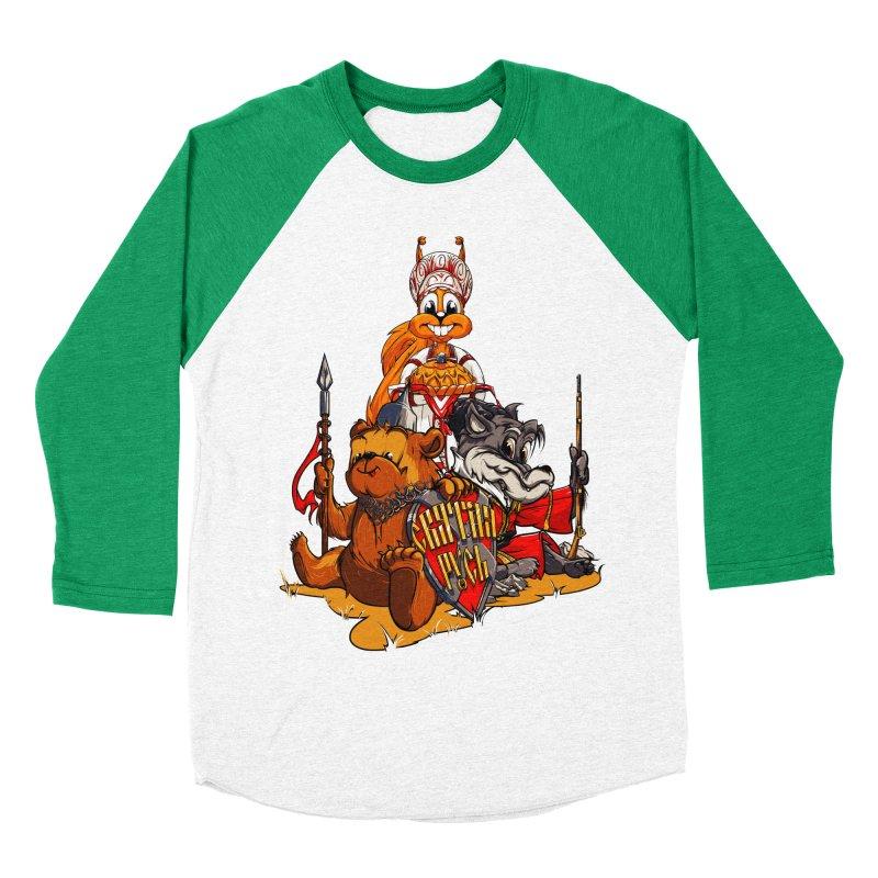 Trio from Russia Women's Baseball Triblend T-Shirt by fishark's Artist Shop