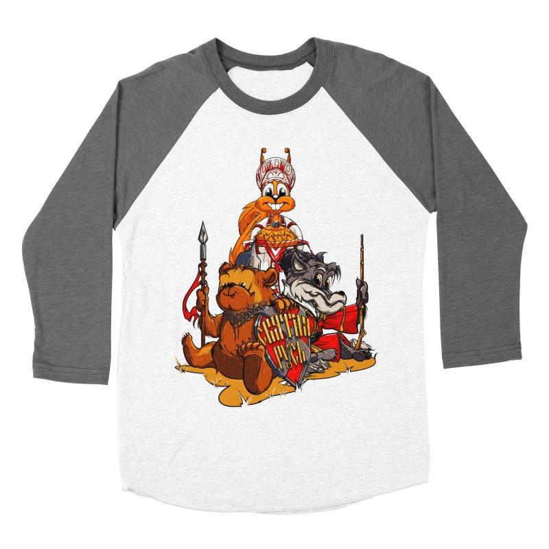 Trio from Russia Men's Baseball Triblend T-Shirt by fishark's Artist Shop