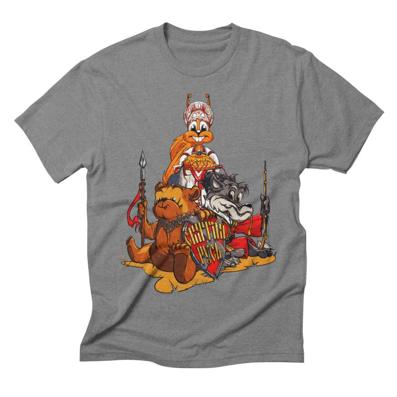 Trio from Russia Men's Triblend T-shirt by fishark's Artist Shop