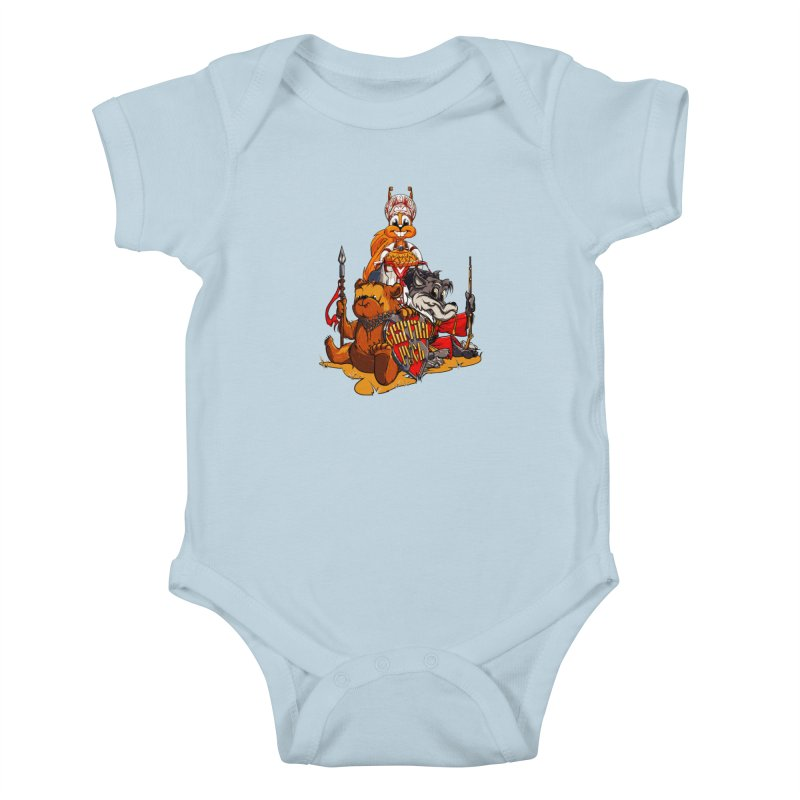 Trio from Russia Kids Baby Bodysuit by fishark's Artist Shop