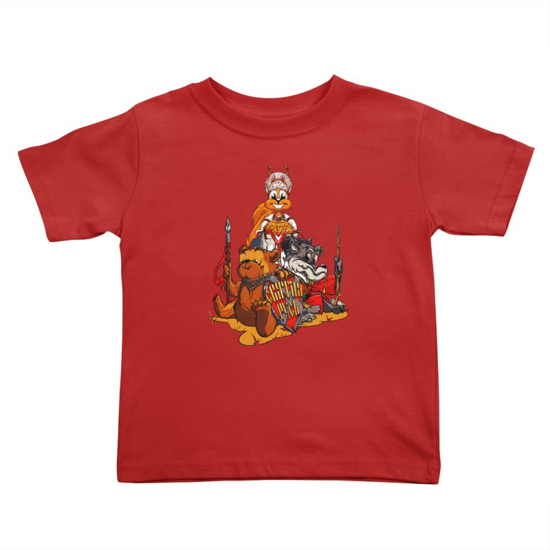 Trio from Russia Kids Toddler T-Shirt by fishark's Artist Shop