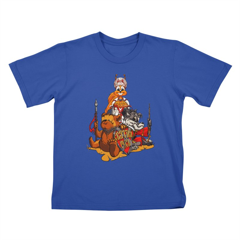 Trio from Russia Kids T-shirt by fishark's Artist Shop
