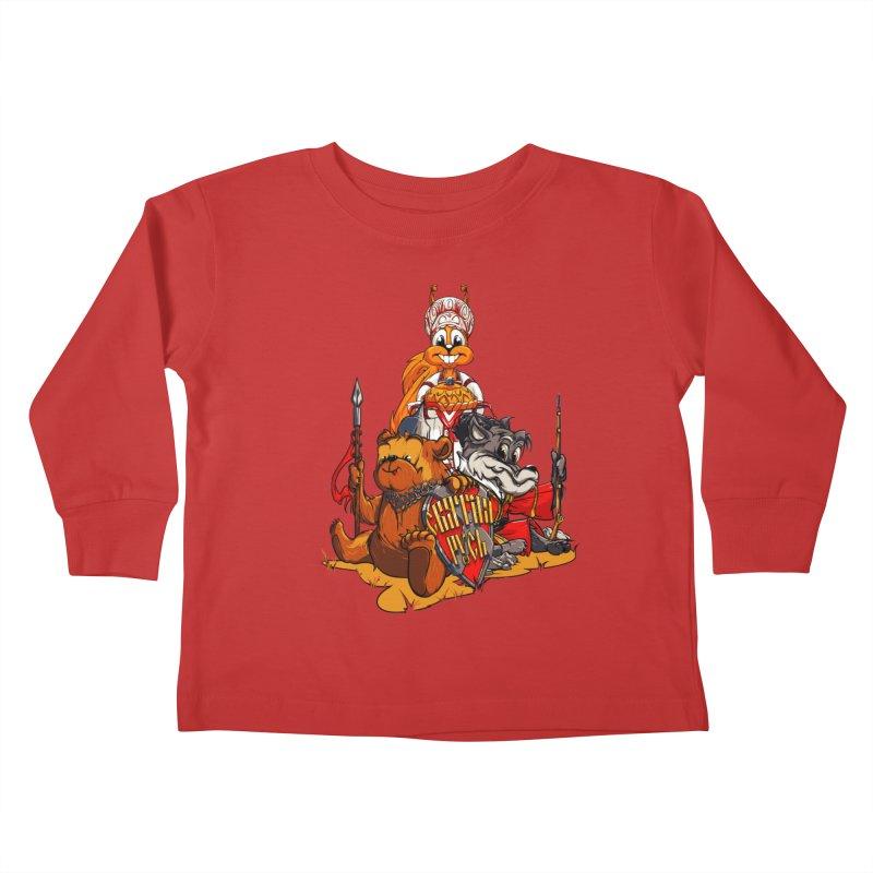 Trio from Russia Kids Toddler Longsleeve T-Shirt by fishark's Artist Shop