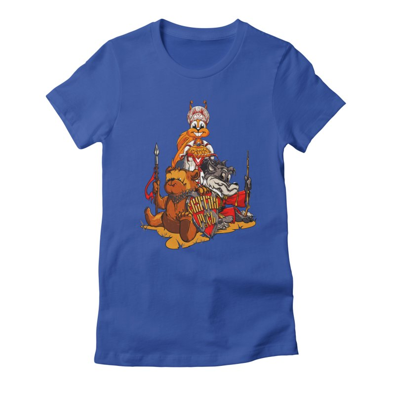 Trio from Russia Women's Fitted T-Shirt by fishark's Artist Shop