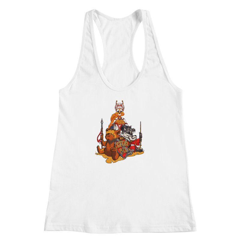 Trio from Russia Women's Racerback Tank by fishark's Artist Shop