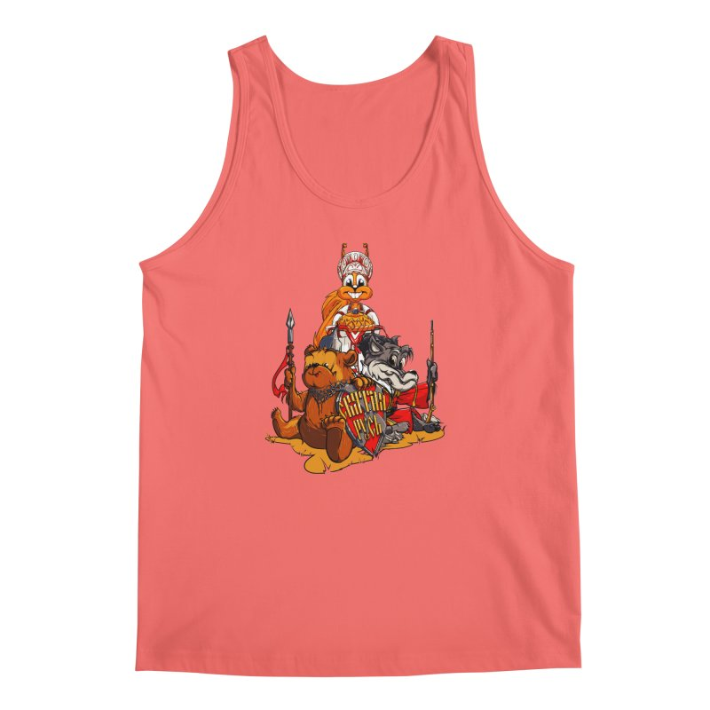 Trio from Russia Men's Tank by fishark's Artist Shop