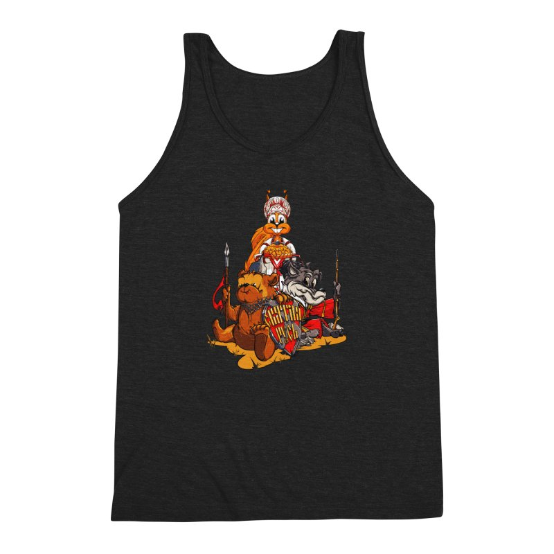 Trio from Russia Men's Triblend Tank by fishark's Artist Shop