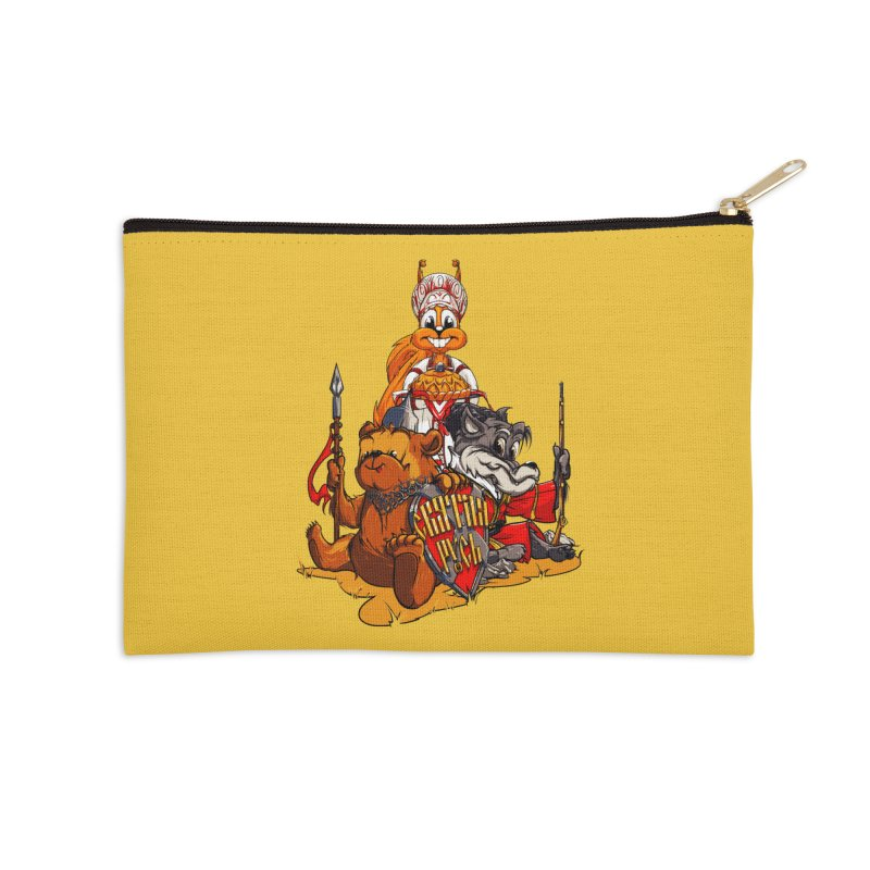 Trio from Russia Accessories Zip Pouch by fishark's Artist Shop