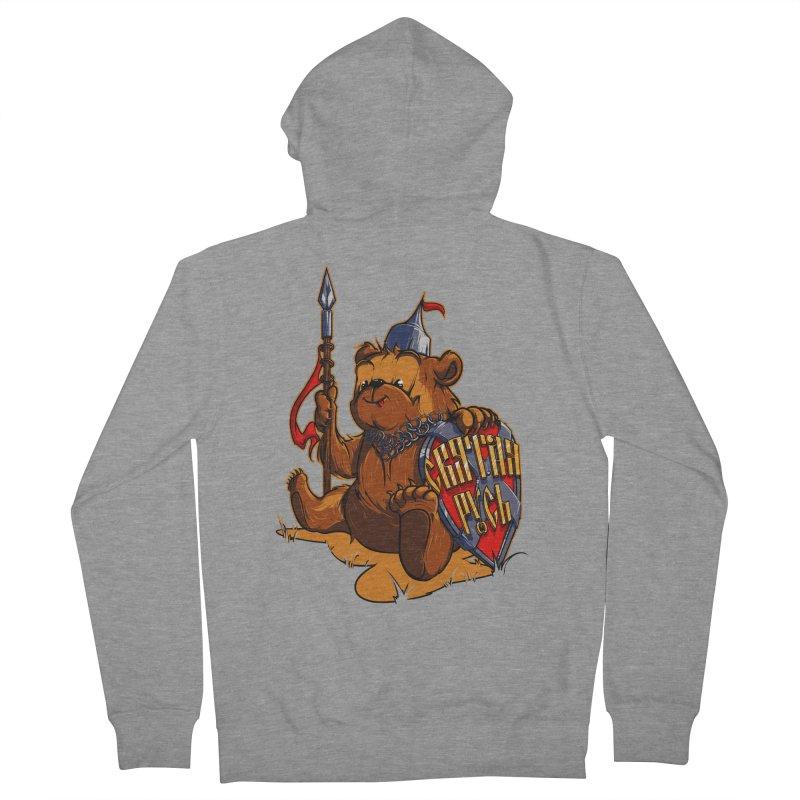 Bear from Russia Women's Zip-Up Hoody by fishark's Artist Shop