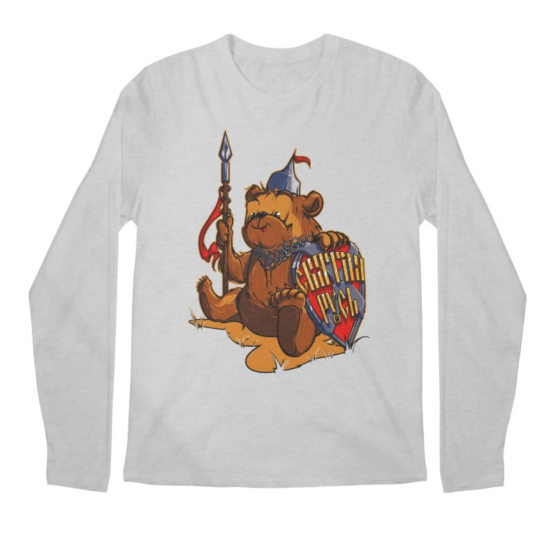 Bear from Russia Men's Longsleeve T-Shirt by fishark's Artist Shop