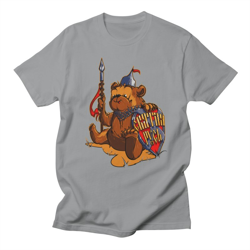 Bear from Russia Men's T-shirt by fishark's Artist Shop
