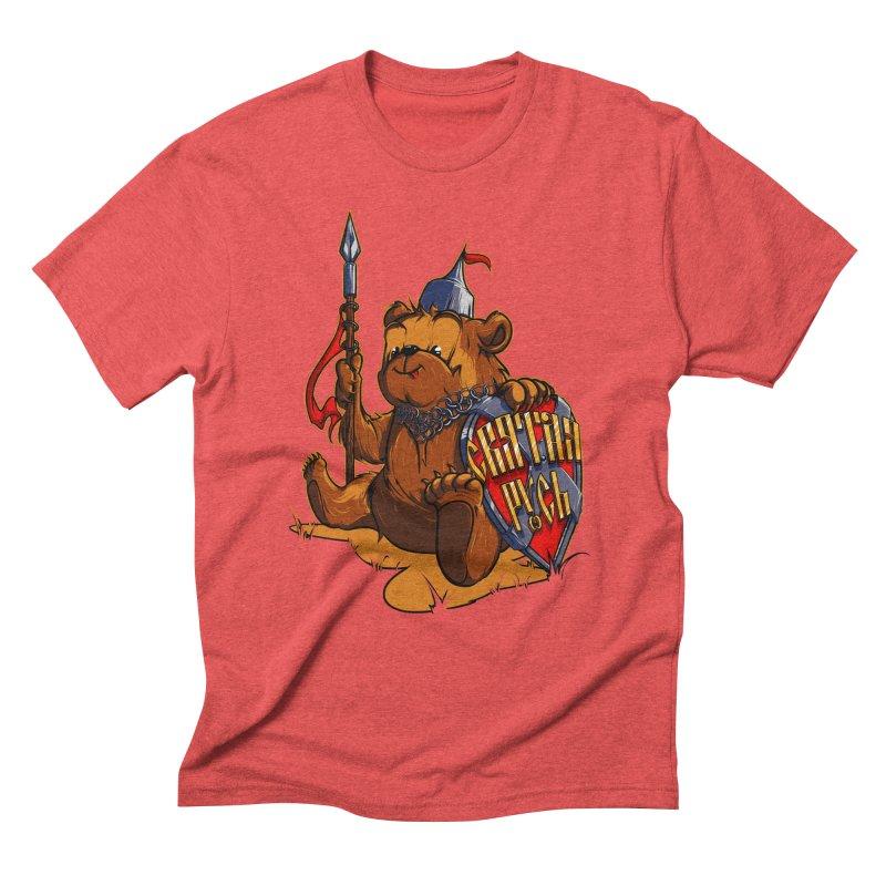 Bear from Russia Men's Triblend T-Shirt by fishark's Artist Shop