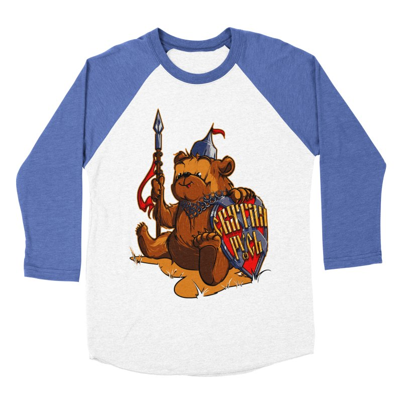Bear from Russia Women's Baseball Triblend T-Shirt by fishark's Artist Shop