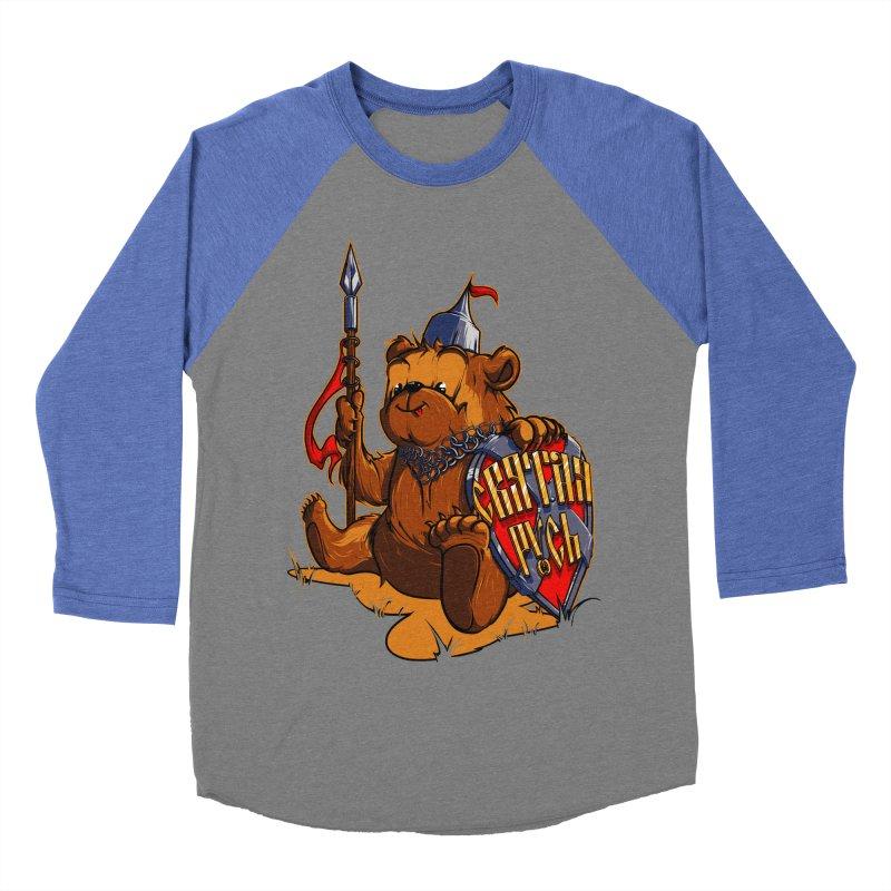 Bear from Russia Women's Baseball Triblend T-Shirt by fishark's Artist Shop