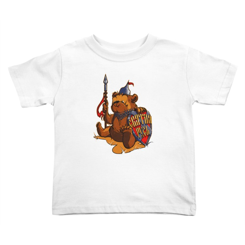 Bear from Russia Kids Toddler T-Shirt by fishark's Artist Shop