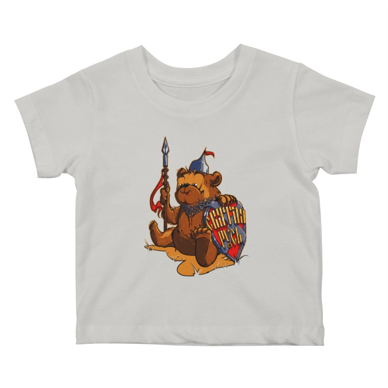 Bear from Russia Kids Baby T-Shirt by fishark's Artist Shop