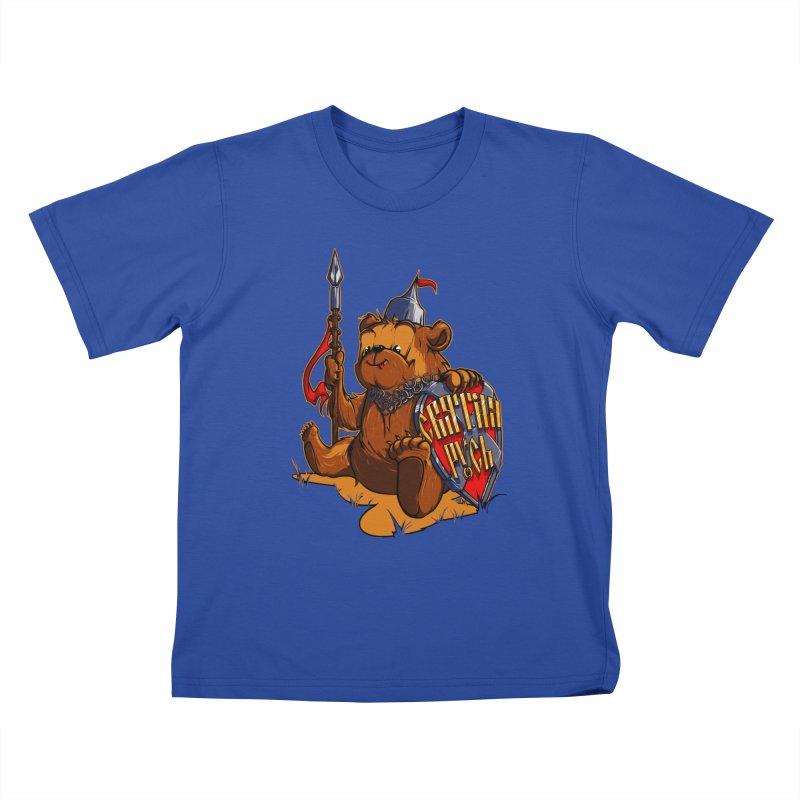 Bear from Russia Kids T-shirt by fishark's Artist Shop