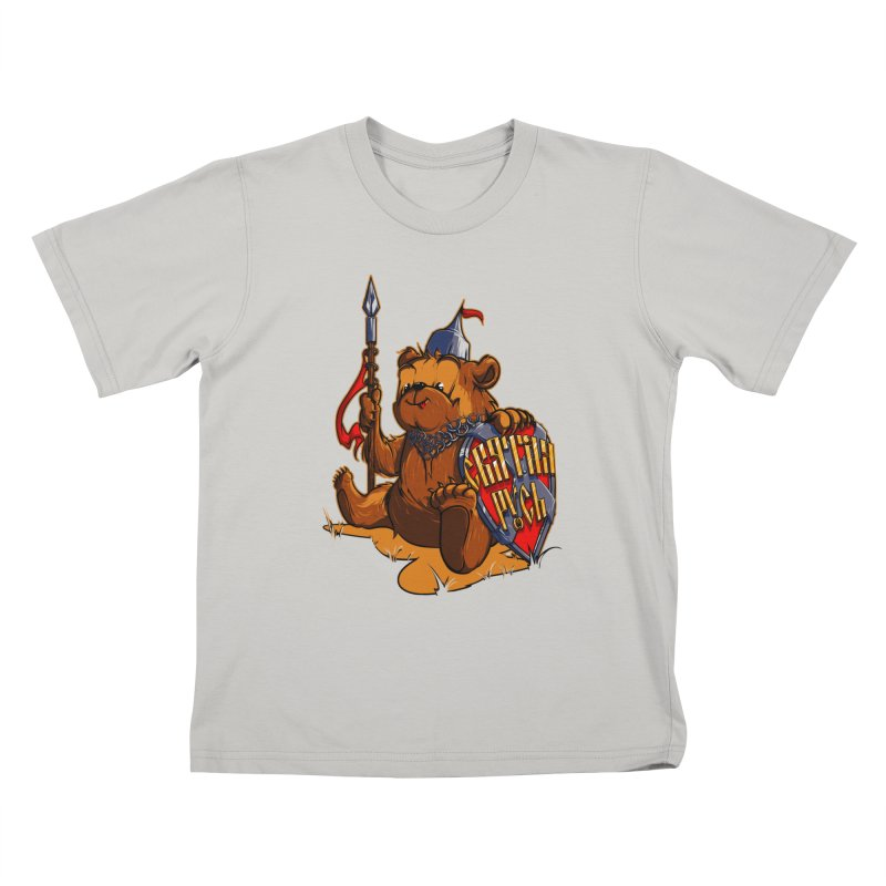 Bear from Russia Kids T-Shirt by fishark's Artist Shop