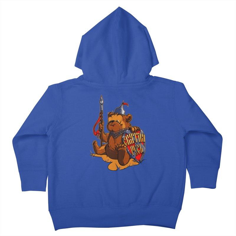 Bear from Russia Kids Toddler Zip-Up Hoody by fishark's Artist Shop