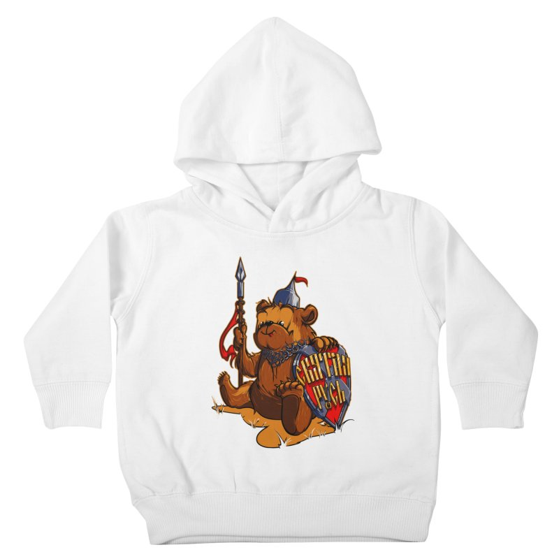 Bear from Russia Kids Toddler Pullover Hoody by fishark's Artist Shop