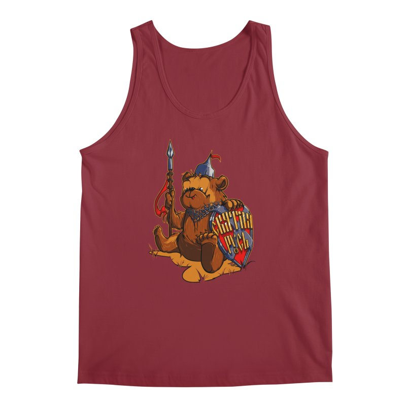 Bear from Russia Men's Tank by fishark's Artist Shop