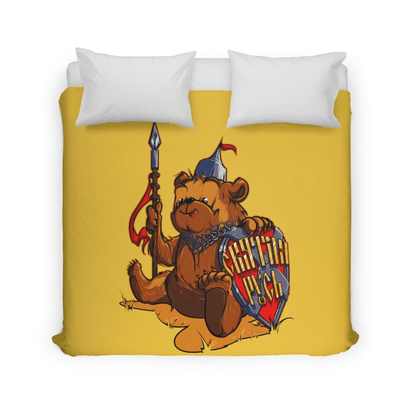 Bear from Russia Home Duvet by fishark's Artist Shop